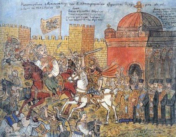 Turks Capture Constantinople (end)