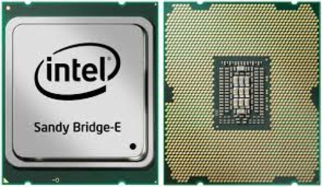 Intel core Sandy brigdes