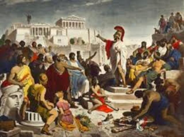 Peloponnesian Wars (start)