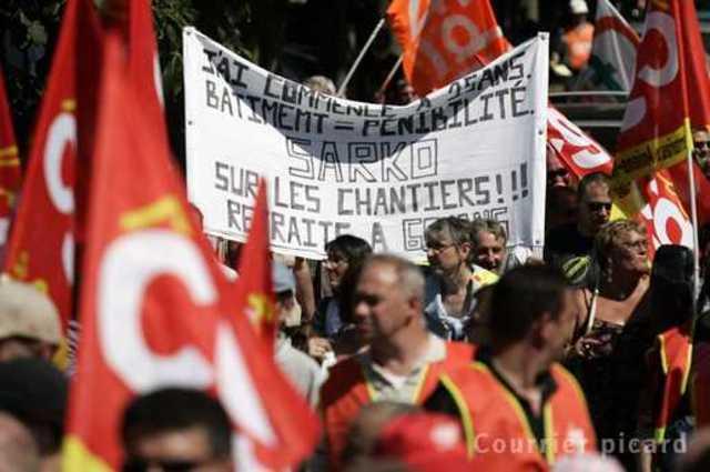 Manifestations contre la réforme des retraites