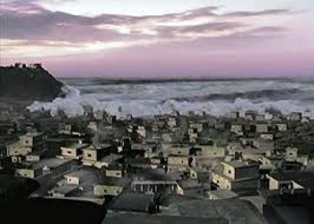 Minoan Civilization is Destroyed