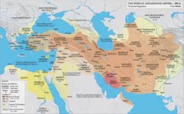 Persian Empire Fall