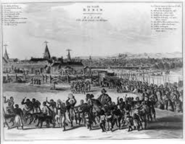 Kingdom of Benin Established