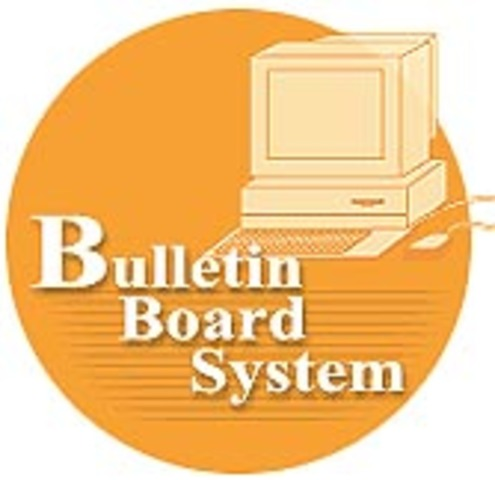 First public bulletin board using personal computers