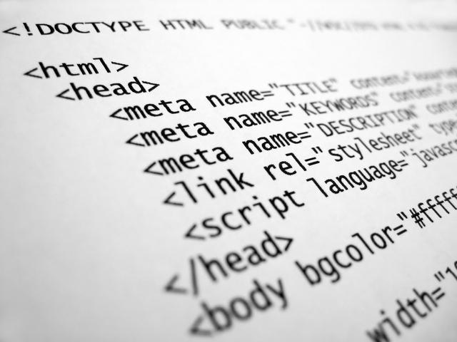 Development of HyperText Markup Language (HTML)