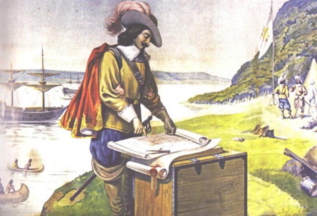 Establishment of Quebec