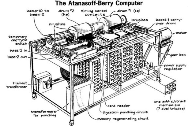 First computer to store information