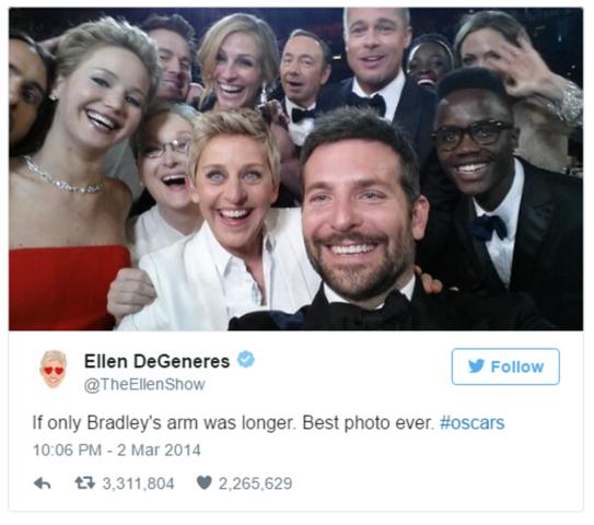 Ellen Breaks Twitter