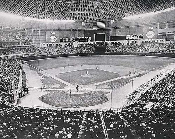 Astrodome Opening Baseball Game