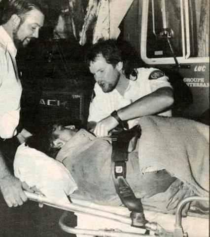 """Richard """"Rick"""" Daly le patriarche des paramédics soins avancés depuis 1976 à aujourd'hui. Rick décida de devenir soins avancés en découvrant le métier au travers les séries TV M.A.S.H & Emergency! (squad 51)."""