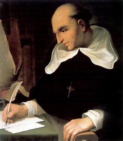 Fray Luís de Montesino y Bartolomé de las Casas