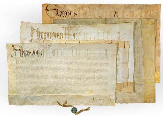 Fundamento histórico y jurídico de la propiedad (Las bulas)