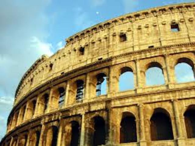 COLISEO DE ROMA, CONSTRUCCIONES DEL IMPERIO ROMANO