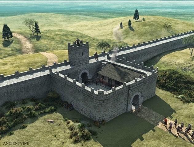 El Muro o Muralla de Adriano