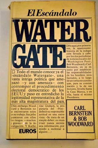 Estallido del «Caso Watergate»