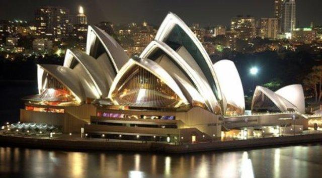 Inauguración de la Ópera de Sídney