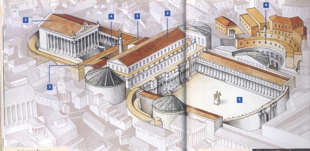 112 d.C foro de Trejano