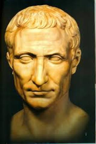 55 a.C emperador Julio Cesar