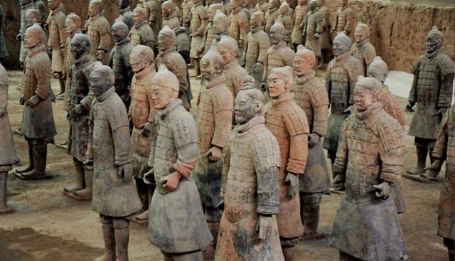 Descubrimiento de los Guerreros de terracota en Xian (China)