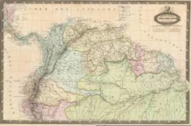 cartografia de colombia