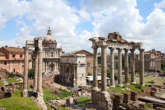 500 a.C Foro Romano