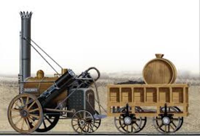 locomotora roket