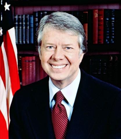 El demócrata Jimmy Carter, toma posesión como presidente de los Estados Unidos