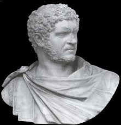 212 d.C Emperador Calacalla