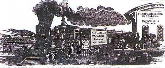 1855 Primer ferrocarril