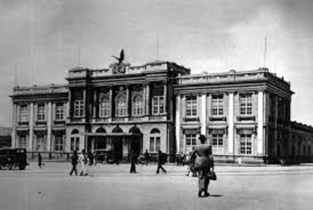 1889 Inauguracion ferrocarril de la Sabana