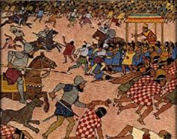 La conquista Española del Cusco