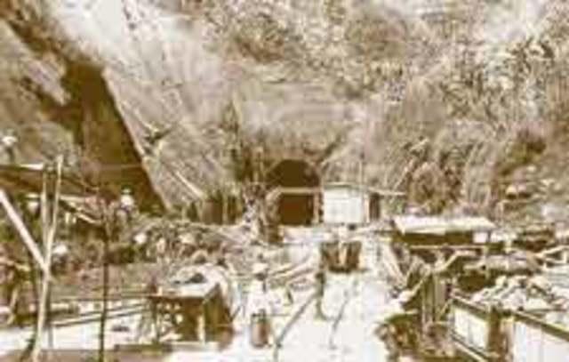 1926 1er Tunel en Colombia