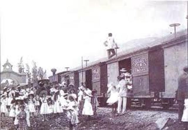 1960 vías ferreas