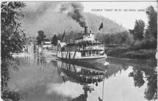 1936 transporte fluvial