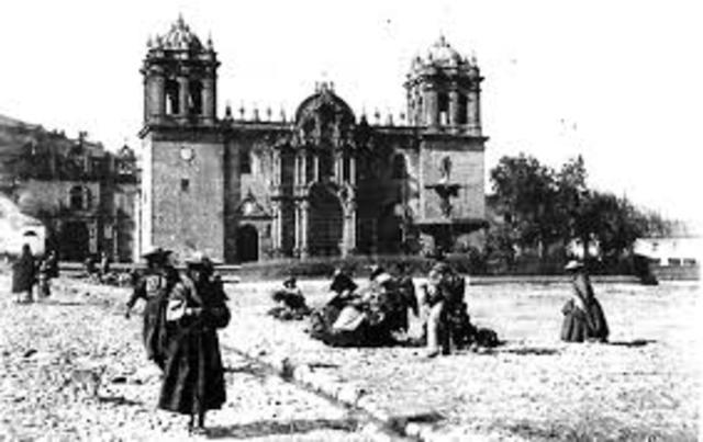 1532 conquista española a Cusco