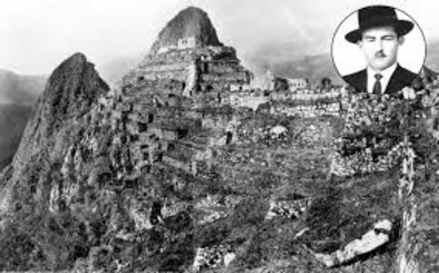 1911 Encuentro de Machupicchu
