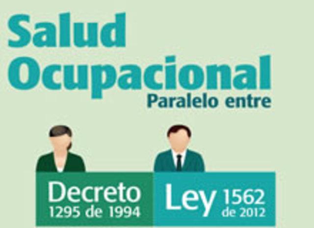 Ley 1562 de 2012