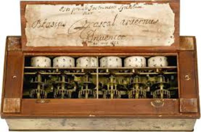 Calculadora mecánica de Pascal
