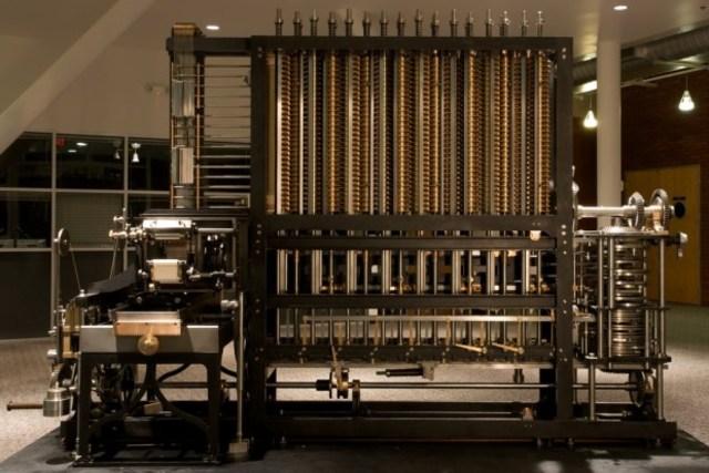 Máquina diferencial para el cálculo de polinomios