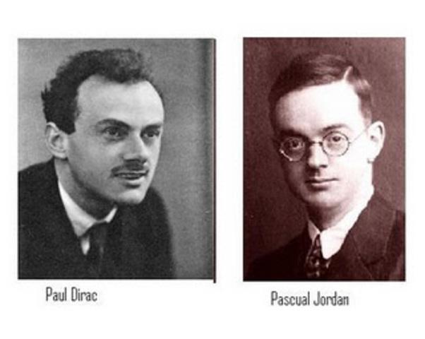 Modelo atomico de Dirac-Jordan
