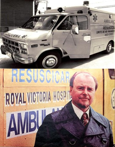 Première unité mobile de soins intensifs du Québec.