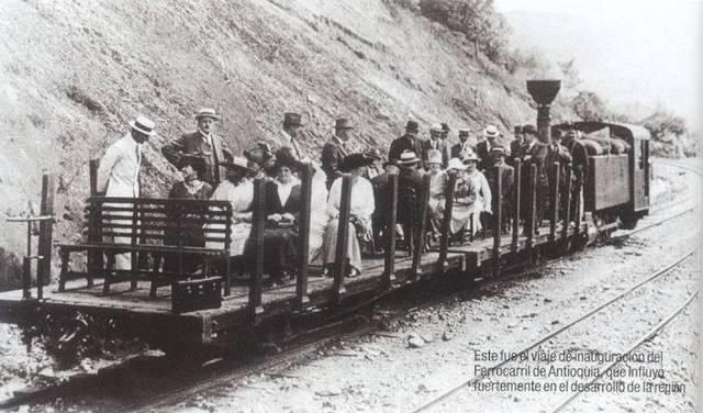 El Comienzo Industrializado de la Economia Colombiana atravez de los Ferrocarriles
