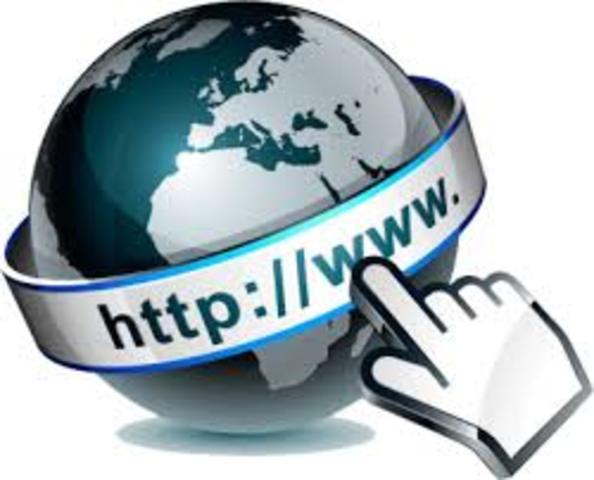 Aparición de la web-www.