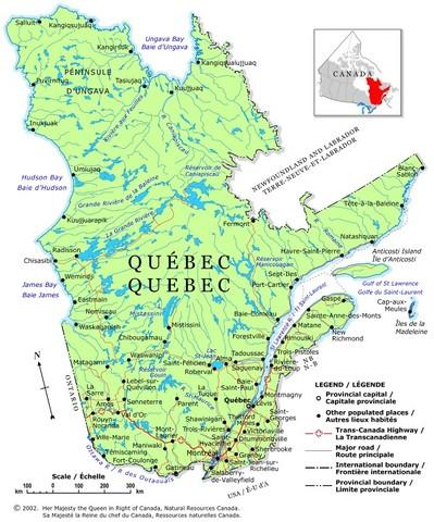 First settlement (Quebec)