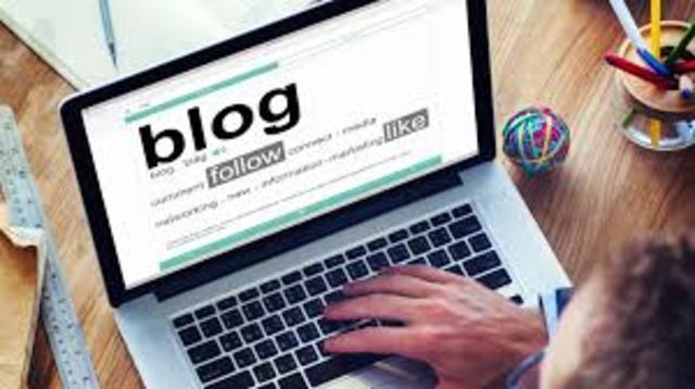 Aparición del BLOG-Bitacoras WEB
