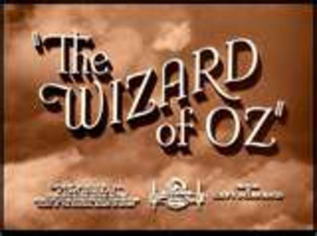 Wizard of Oz & Gone With the Wind