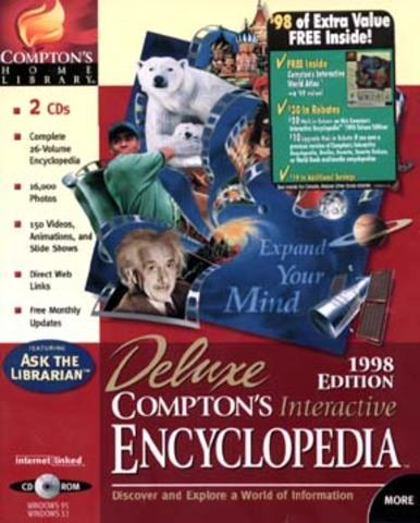 Primera enciclopedia en multimedia- Enciclopedia Compton