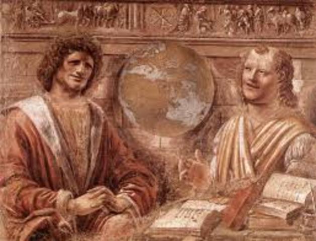 Leucippus and Democritus found the school of Atomism