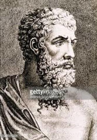 The Greek philosopher Aristotle