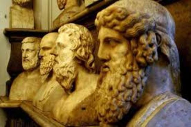 The Stoic philosophers of ancient Greece